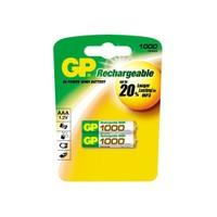 GP 1000 NI-MH Şarjlı İnce Kalem Pil (AAA) 100AAAHC-UC2