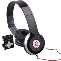 Powerway DRN-X08 4GB Mp3 Çalar + Powerdreams Kulaküstü Kulaklık - Siyah