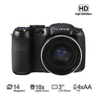 """Fujifilm FinePix S2995 14MP 18x Optik Zoom 3"""" LCD HD Video Dijital Fotoğraf Makinesi"""