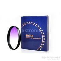 Beta 77Mm Gradual Degrade Kademeli Purple Mor Gündoğumu Filtre