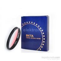 Beta 72Mm Gradual Degrade Kademeli Red Kırmızı Filtre