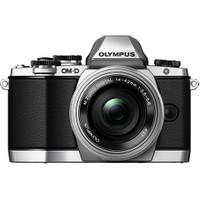 Olympus OMD E-M10 14-42mm EZ Pancake Aynasız SLR Dijital Fotoğraf Makinesi Gümüş