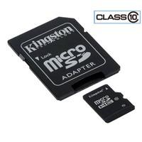 Kingston 16GB Class10 MicroSDHC Hafıza Kartı SDC10/16GB