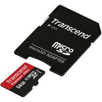 Transcend Micro Sdhc Cl10 U1 W/Adapt 64Gb 400X