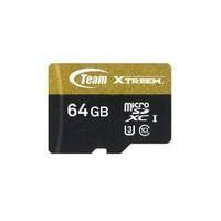 Team Xtreem 64GB 4K UHD ile Tam Uyumlu 90MB/s Micro SDXC U3 700 IOPS Flash Hafıza Kartı (TMMSD64GU390)