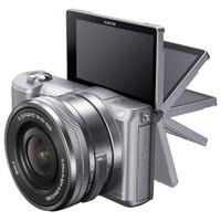 "Sony A5000 16-50mm Objektif 20.1 Mp 3"" Hareketli Ekran Wi-fi NFS Aynasız SLR Dijital Fotoğraf Makinesi"