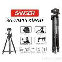 Sanger Sg-3550 Dslr Kamera Tripod 1.56M