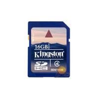 Kingston 16 GB Class 4 SDHC Hafıza Kartı SD4/16GB