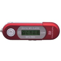 "Powerway PW-01 2GB + 1.0"" Ekran + FM Radyo + Ses Kayıt Mp3 Çalar Kırmızı"