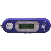 "Powerway PW-01 2GB + 1.0"" Ekran + FM Radyo + Ses Kayıt Mp3 Çalar Mavi"