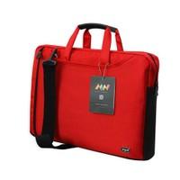 """M&W ColorDAY NB-1537-15--K 13,3""""- 15,6"""" Kırmızı Ultrabook &Laptop Çantası"""