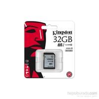Kingston 32GB Class10 UHS-I SDHC Hafıza Kartı (45MB/s) SD10VG2/32GB
