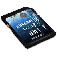 Kingston 8GB SDHC Class 10 G3 Hafıza Kartı SD10G3/8GB