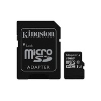 Kingston 16GB MicroSDHC Class10 UHS-I 45MB/s Hafıza Kartı SDC10G2/16GB