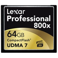 Lexar 64GB 800X Professional Compact Flash Hafıza Kartı (LCF64GCRBEU800)