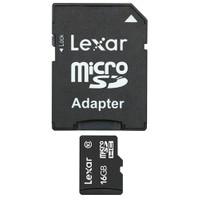 Lexar 16GB microSDHC + SD Adaptör Class 10 Hafıza Kartı (LSDMI16GABEUC10A)