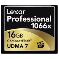 Lexar 16GB 1066x Professional Compact Flash Hafıza Kartı LCF16GCRBEU1066