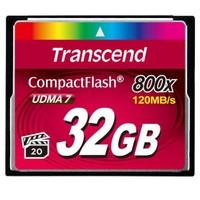 Transcend 32GB 800x Compact Flash Kart (Type I)