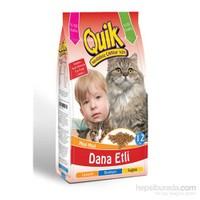Quik Dana Etli Kedi Maması 12 Kg