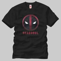 Deadpool: Grunge Logo Erkek Tişört