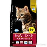 Matisse Tavuklu Pirinçli Kuru 1,5 Kg Kedi Maması