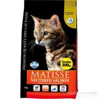 Matisse Neutered Kısırlaştırılmış Somonlu Kuru 1,5 Kg Kedi Maması