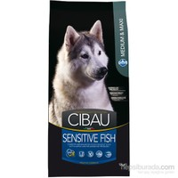 Cibau Sensitive Balıklı Yetişkin&Büyük Irk 12 Kg Köpek Maması