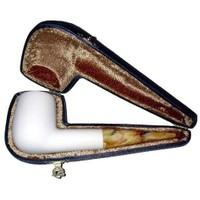 Billiard Modeli Lületaşı Pipo (9mm Filtreli)