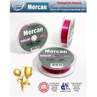 Mercan Excellent Soft Fluoracarbon Coated Misina, Fuşya, 100mt