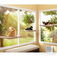 Pet Zoom Kedi Pencere Yatağı