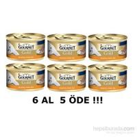 Purina Gourmet Gold Kıyılmış Hindili, 85 gr 6 al 5 Öde! kk