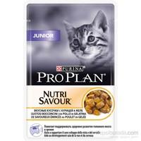 Pro Plan Junior Cat Yavru Tavuklu Kedi Yaş Maması 85 Gr