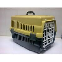 Petmaster Pet Master Kedi Taşıma Kabı Plastik Kapılı 47*30*31