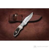 Bora M 603 Damascus Çelik Boynuz Saplı Bıçak
