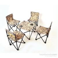 And 4 Sandalye 1 Masa Çantalı Set And201