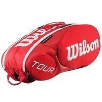 Wilson Tour Moulded Kırmızı 9X Tenis Çantası