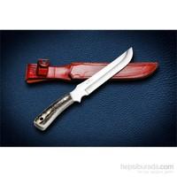 Bora M 413 Büyük Hawk Geyik Boynuzu Saplı Bıçak