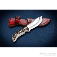 Bora M 419 Cheeatah Geyik Boynuzu Saplı Bıçak