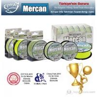 Mercan Pe-Braid Paltinum 8 Örgülü İp Misina 100Mt Sarı