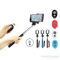 Sanger İphone Ve Android Kumandalı Selfie Monopod