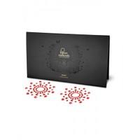 Bijoux Mini Kırmızı Göğüs Sticker