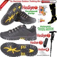 Dixstar Trekking Unisex Ayakkabı Batton Yağmurluk Şemsiye Termojenik Çorap