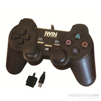 Jwin PS2/USB 1225 Dual Shock PS2/USB Gamepad