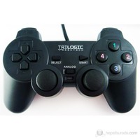 Trilogic GP828 Analog PS3/PS2/USB Uyumlu Gamepad