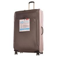 It Luggage Hafif Kumaş Büyük Boy Gri Valiz