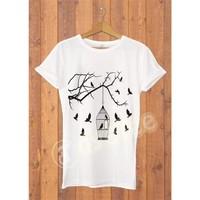Dyetee Özgürlüğe Erkek T-Shirt