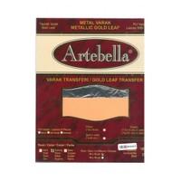 Artebella 14X14 Cm Boyutunda 25 Yaprak Gümüş Metal Varak