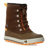 Merrell Snow Bank Waterproof Kids Ayakkabı J95501 / Chocolate Chıp - 35