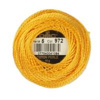 Dmc Koton Perle Yumak 10 Gr Sarı No:5 - 972