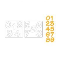 Sizzix Sayı Şekilli Kesici Kalıp 2 - 1657894